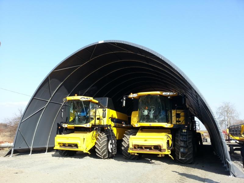 Hangar matériel agricole - Pologne