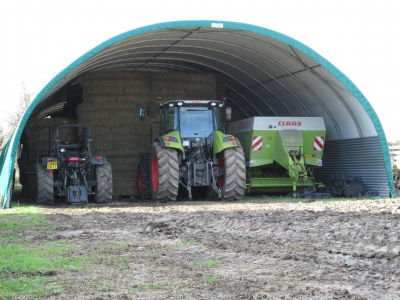 Hangar matériel agricole - France