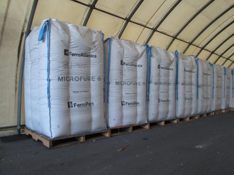 Big bag de fumées de silice - France