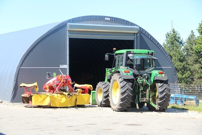 Hangar matériel agricole - Suisse