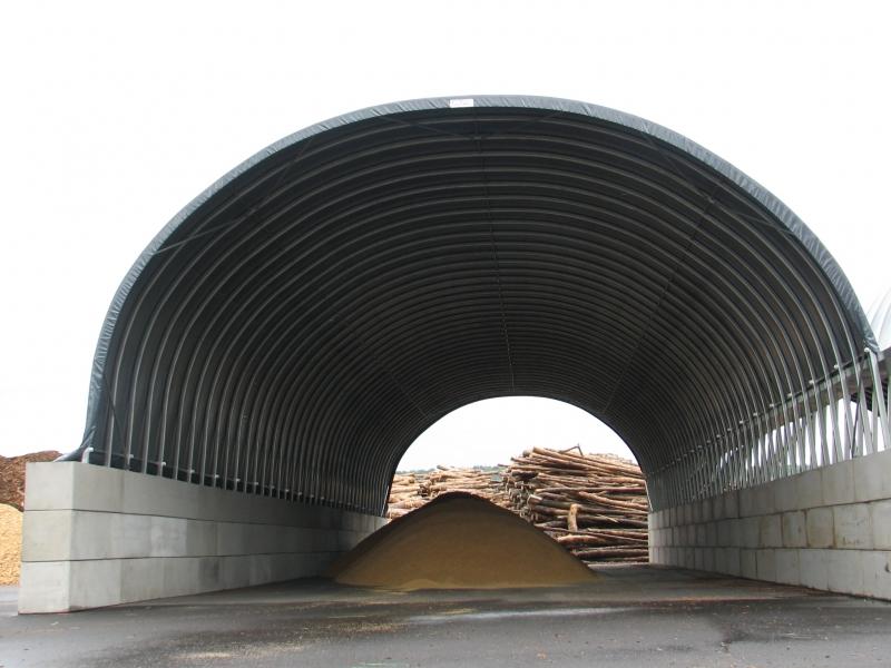 Stockage bois plaquettes - France